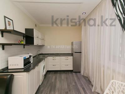 1-комнатная квартира, 45 м², 3/9 этаж посуточно, Сауран 2 — Достык за 10 000 〒 в Нур-Султане (Астана), Есиль р-н — фото 4