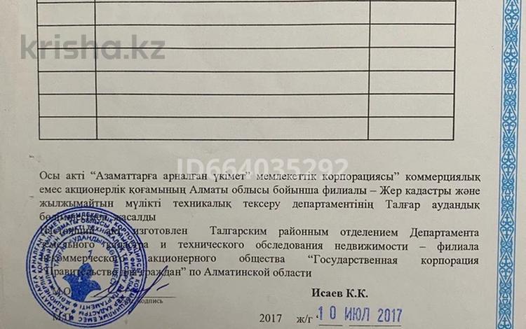 Участок 8 соток, Жемис 1/3 за 8 млн 〒 в Туздыбастау (Калинино)