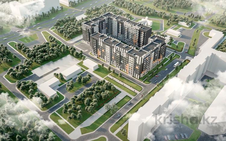 2-комнатная квартира, 60.96 м², Коргалжынское шоссе 17 за ~ 16.4 млн 〒 в Нур-Султане (Астана)