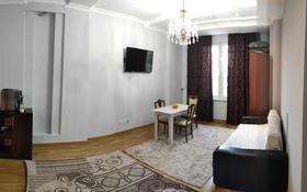 1-комнатная квартира, 46 м², 1/3 этаж помесячно, Мкр. Мирас за 170 000 〒 в Алматы, Бостандыкский р-н