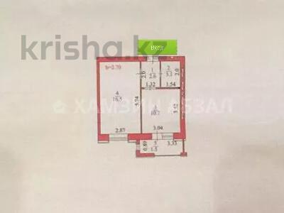 1-комнатная квартира, 35 м², 4/9 этаж, Ахмета Жубанова 4 — Амангельды Иманова за 13.2 млн 〒 в Нур-Султане (Астана), р-н Байконур — фото 5