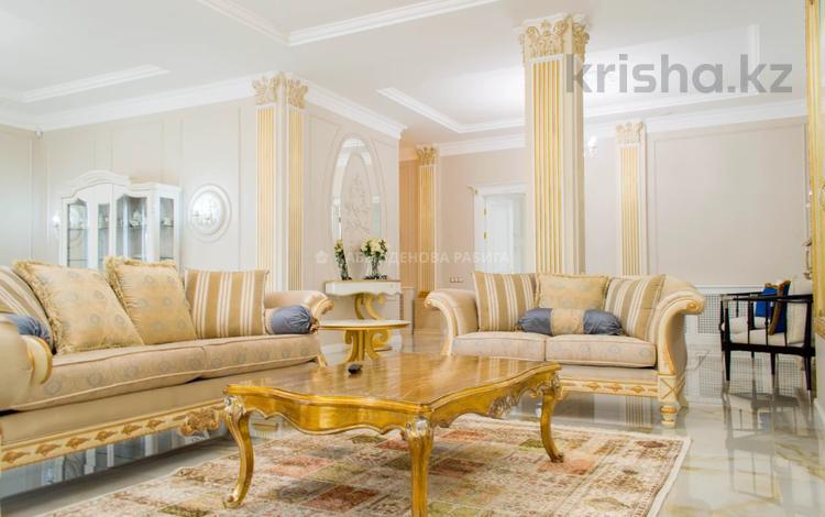 8-комнатный дом, 560 м², 20 сот., Ивана Панфилова за 630 млн 〒 в Нур-Султане (Астана), Алматы р-н