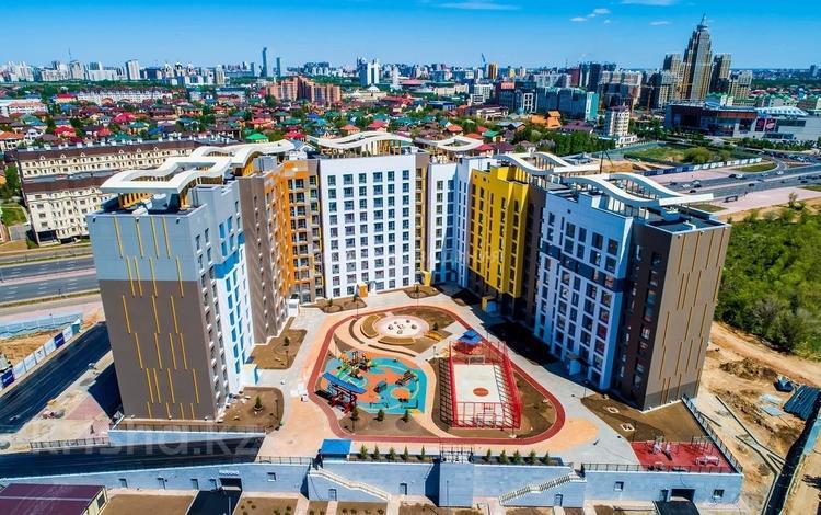 3-комнатная квартира, 111.2 м², Каиыма Мухамедханова 4а за ~ 39.4 млн 〒 в Нур-Султане (Астана), Есиль р-н