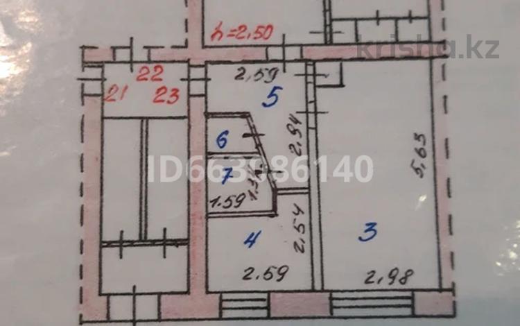 3-комнатная квартира, 62.4 м², 1/5 этаж, 5 мкр пр 84/2 за 10 млн 〒 в Темиртау