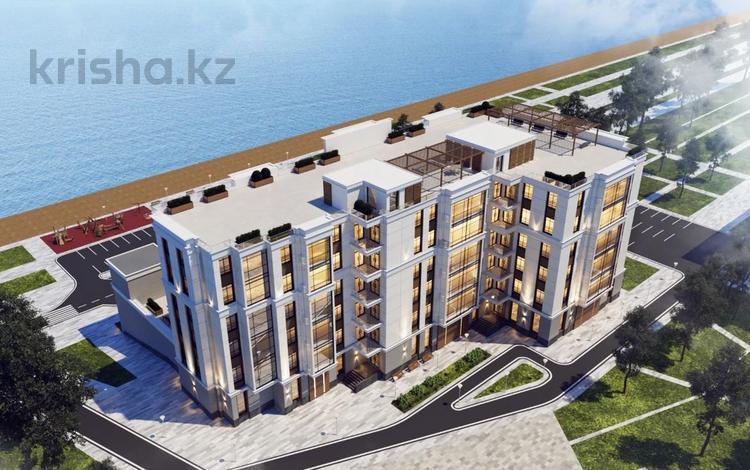 1-комнатная квартира, 69.3 м², мкр. 7а 14 за ~ 31.2 млн 〒 в Актау