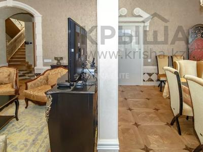 8-комнатный дом помесячно, 700 м², 18 сот., Микрорайон Акбулак-4 — Шарля де Голля за 2.2 млн 〒 в Нур-Султане (Астана), Алматы р-н — фото 9