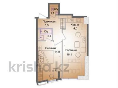 2-комнатная квартира, 51 м², 8/13 этаж, Ади Шарипова — Курмангазы за 32.4 млн 〒 в Алматы, Алмалинский р-н