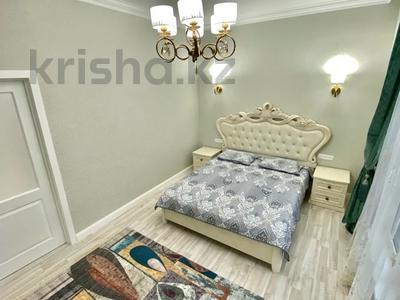 2-комнатная квартира, 80 м², 9/16 этаж посуточно, Алиби Жангелдин 67 за 25 000 〒 в Атырау