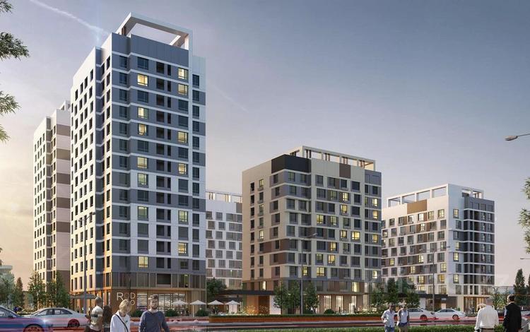 2-комнатная квартира, 56.11 м², пр. Кабанбай батыра — ул. Т. Рыскулова за ~ 22.7 млн 〒 в Нур-Султане (Астане)