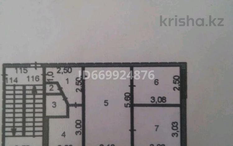 3-комнатная квартира, 47 м², 4/5 этаж, мкр Пришахтинск, 23й микрорайон 35 за 11.9 млн 〒 в Караганде, Октябрьский р-н