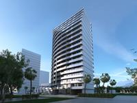 1-комнатная квартира, 34.5 м², Реджеб Нижарадзе 17 за ~ 10.2 млн 〒 в Батуми