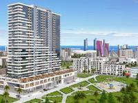 1-комнатная квартира, 36 м², 7/25 этаж, Багратиони за ~ 13.1 млн 〒 в Батуми