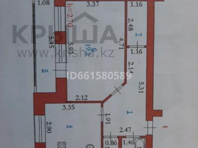 1-комнатная квартира, 48.2 м², 1/9 этаж, 2 мкр 15В за 8.5 млн 〒 в Актобе, Нур Актобе