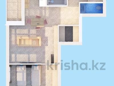 2-комнатная квартира, 62 м², 6/10 этаж, Кайыма Мухамедханова 21 — Әйтеке би за 25 млн 〒 в Нур-Султане (Астана), Есиль р-н — фото 10
