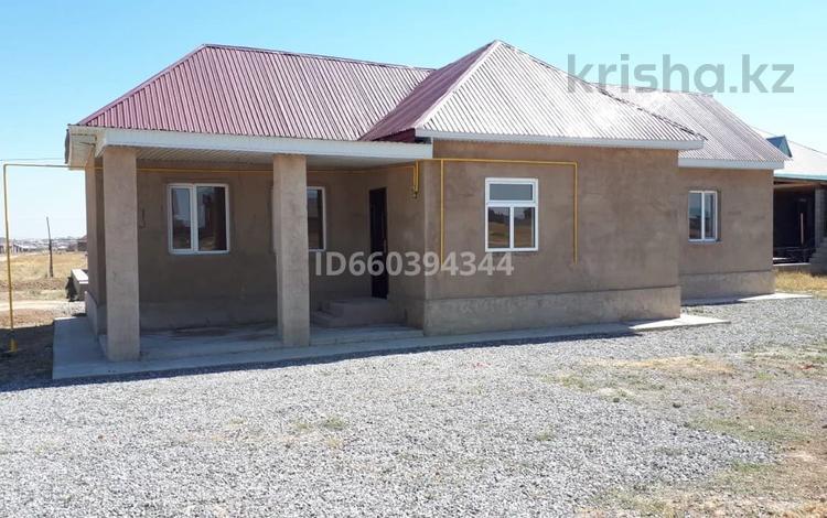 4-комнатный дом, 80 м², 8 сот., мкр Достык за 12 млн 〒 в Шымкенте, Каратауский р-н