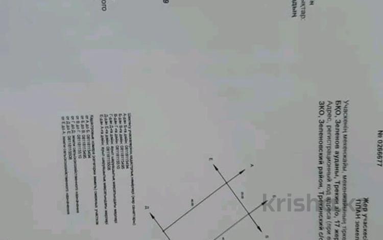 Участок 8 соток, улица И. Тайманова 17 за 900 000 〒 в Трекино