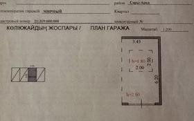 Гараж в кооперативе Мирный за 1.9 млн 〒 в Нур-Султане (Астана), Сарыарка р-н