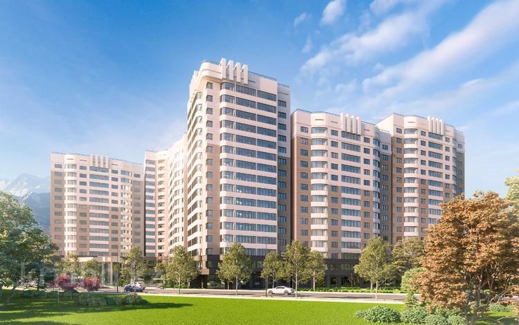 4-комнатная квартира, 106.4 м², 10/16 этаж, Навои 9/1 за ~ 42.5 млн 〒 в Алматы, Ауэзовский р-н