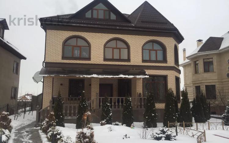 4-комнатный дом, 540 м², 10 сот., мкр Таужолы за 100 млн 〒 в Алматы, Наурызбайский р-н