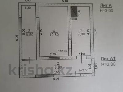 2-комнатный дом, 45 м², 10 сот., Шолдала, Кызыларай за 3.5 млн 〒 в Таразе