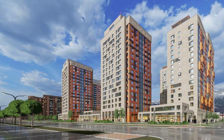 1-комнатная квартира, 56.4 м², 2/18 этаж, Абая 233 — Брусиловского за ~ 19.2 млн 〒 в Алматы, Бостандыкский р-н
