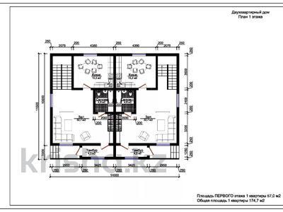 7-комнатная квартира, 174.7 м², мкр Кайрат, Хан Тенгри за 38 млн 〒 в Алматы, Турксибский р-н — фото 5