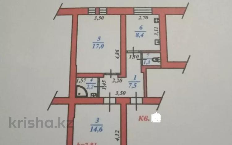 2-комнатная квартира, 55.4 м², 1/2 этаж, Байтурсынова 147 — Пирогова за 21 млн 〒 в Алматы, Бостандыкский р-н