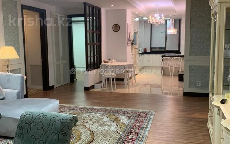 4-комнатная квартира, 148 м², 19/25 этаж на длительный срок, Кошкарбаева 8 за 500 000 〒 в Нур-Султане (Астане), Алматы р-н