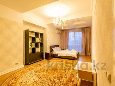 3-комнатная квартира, 110 м², 4/30 этаж посуточно, Аль-Фараби 21 за 40 000 〒 в Алматы — фото 21