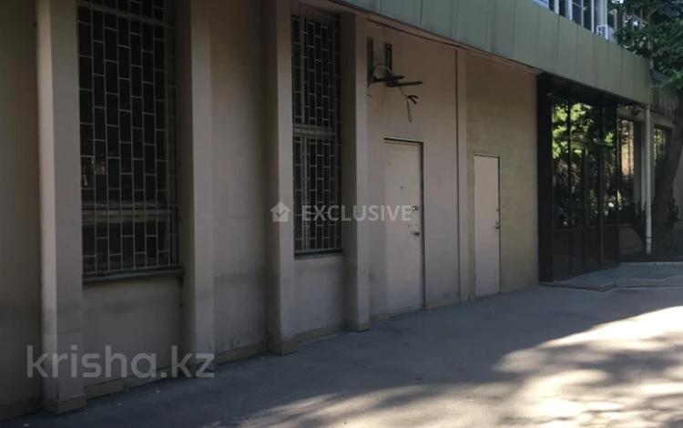 Помещение площадью 164.2 м², Наурызбай Батыра 70 — Казыбек Би за 550 000 〒 в Алматы, Алмалинский р-н