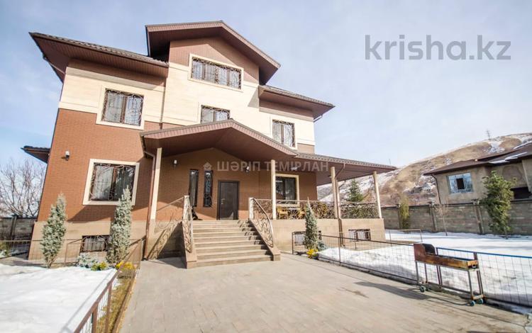 7-комнатный дом, 440 м², 12 сот., мкр Ремизовка за 350 млн 〒 в Алматы, Бостандыкский р-н