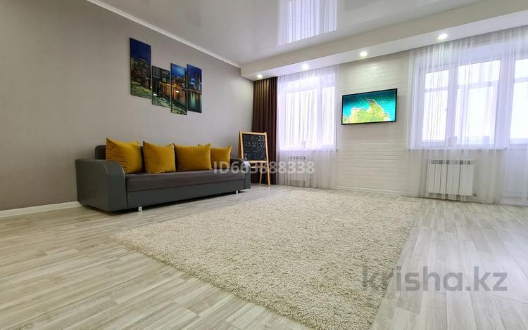 1-комнатная квартира, 45 м², 4/5 этаж посуточно, улица 8 Марта за 10 000 〒 в Кокшетау