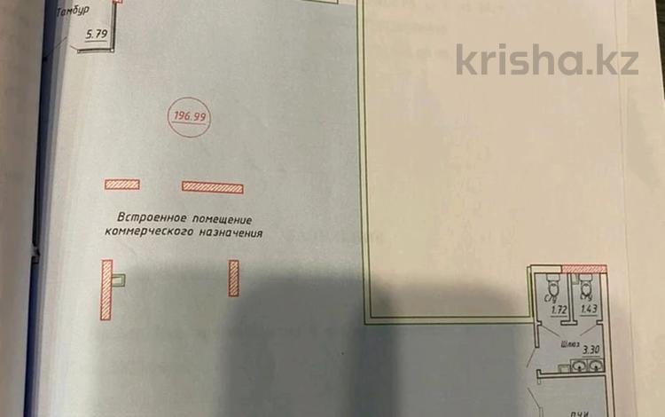 Помещение площадью 196.99 м², Айнаколь — Сарыколь за 73 млн 〒 в Нур-Султане (Астане), Алматы р-н