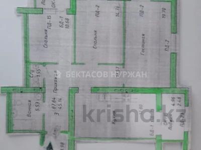 3-комнатная квартира, 89 м², 3/8 этаж, Алихана Бокейханова 27/1 за 35 млн 〒 в Нур-Султане (Астана), Есиль р-н — фото 10