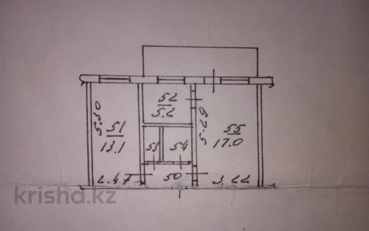 2-комнатная квартира, 42 м², 2/4 этаж, Джандосова за 18.9 млн 〒 в Алматы, Ауэзовский р-н