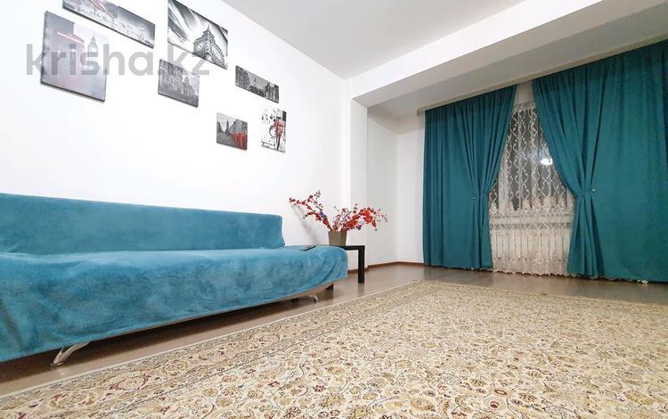 2-комнатная квартира, 90 м², 14/22 этаж посуточно, Гагарина 133/8 — Мынбаева за 12 000 〒 в Алматы