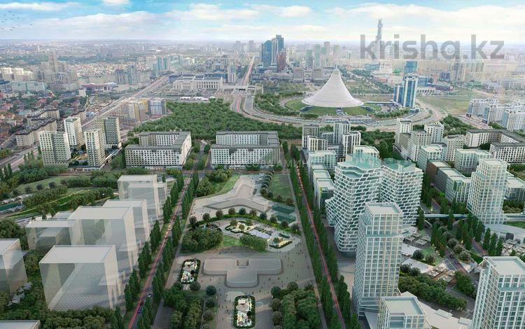 2-комнатная квартира, 68.4 м², 8/16 этаж, Мухамедханова — 306 за ~ 23.4 млн 〒 в Нур-Султане (Астана), Есиль р-н
