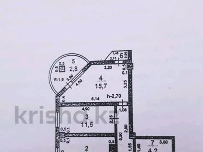 2-комнатная квартира, 65 м², 6/9 этаж, Нурсат 128 — Байдыбек Би за 11.2 млн 〒 в Шымкенте, Каратауский р-н — фото 9