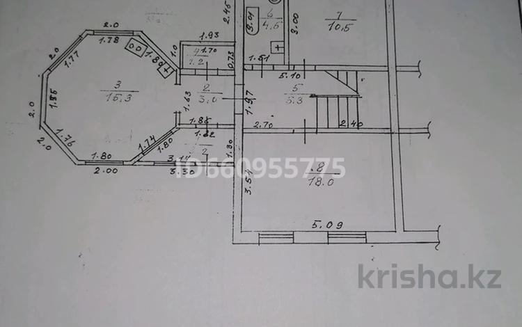 4-комнатный дом, 172 м², 5 сот., 18-й микрорайон 42 за 22 млн 〒 в Капчагае
