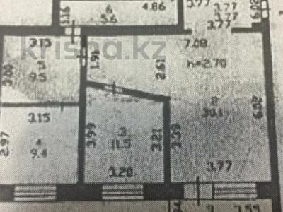 3-комнатная квартира, 84 м², 9/12 этаж, Богенбай батыра 31/2 за 25.5 млн 〒 в Нур-Султане (Астана) — фото 3