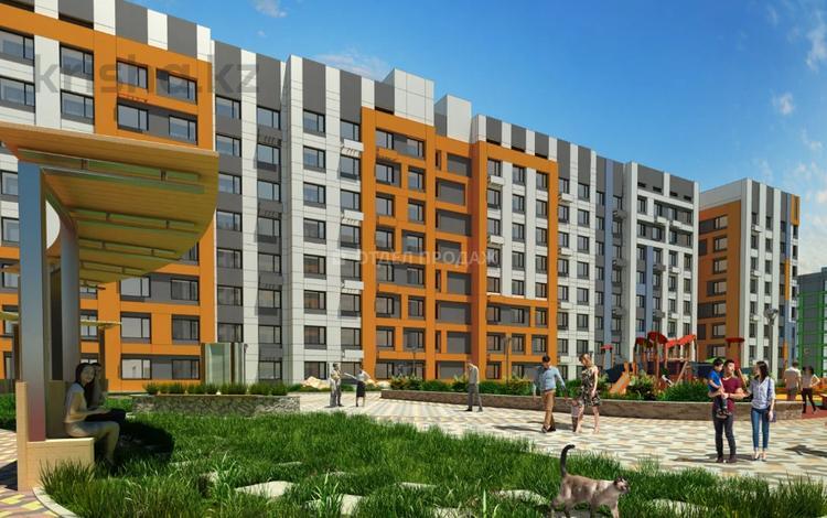 1-комнатная квартира, 38.31 м², Толе би — Е-10 за ~ 11.5 млн 〒 в Нур-Султане (Астана), Есиль р-н