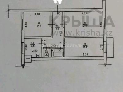 3-комнатная квартира, 70 м², 2/3 этаж, Масанчи 79 б — Абая за 28.5 млн 〒 в Алматы, Бостандыкский р-н — фото 5