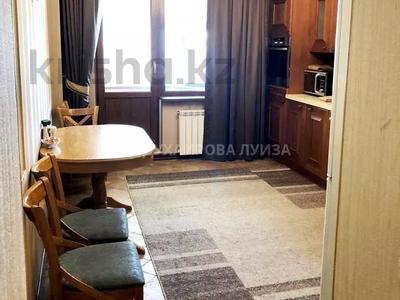 4-комнатная квартира, 125 м² помесячно, мкр Самал-2, Мендикулова 105 — Жолдасбекова за 500 000 〒 в Алматы, Медеуский р-н