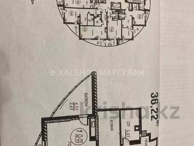 1-комнатная квартира, 36.22 м², 19/23 этаж, Чингиз Айтматов за 11.9 млн 〒 в Нур-Султане (Астана), Есиль р-н — фото 7
