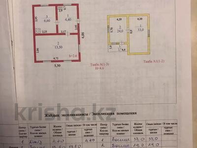 Дача с участком в 9 сот., Саловодческое общество Раушан за 3.2 млн 〒 в  — фото 3