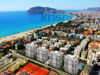 2-комнатная квартира, 75 м², Центр 1 за 70.8 млн 〒 в