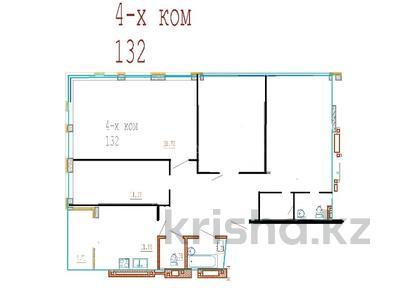4-комнатная квартира, 132 м², Кайыма Мухамедханова за ~ 38.3 млн 〒 в Нур-Султане (Астана), Есиль р-н — фото 5