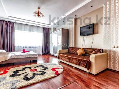1-комнатная квартира, 43 м², 13/39 этаж посуточно, Достык 5 — Сауран за 13 000 〒 в Нур-Султане (Астане), Есильский р-н