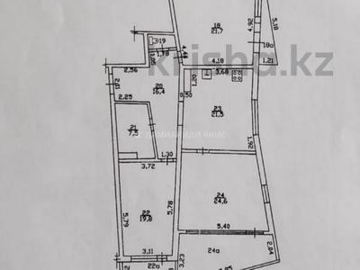 3-комнатная квартира, 140 м², 5/12 этаж, Манаса — Шевченко за 50.7 млн 〒 в Алматы, Алмалинский р-н