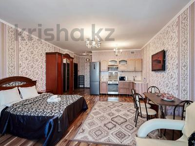 1-комнатная квартира, 60 м², 38/41 этаж посуточно, Достык 5/1 — Сауран за 10 000 〒 в Нур-Султане (Астана) — фото 6